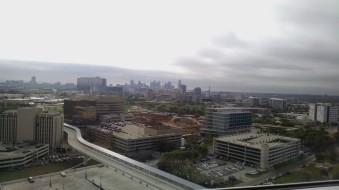 View from the hospital room